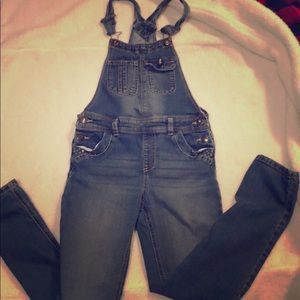 Girl's Jordache bib overalls Sz 10-12